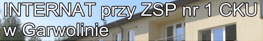Internat ZSP1 CKU Garwolin